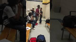 Fights in school ....gas