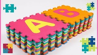 ABC FLOOR PUZZLE | THE PERFECT FOAM PLAY MAT | LEARNING THE  ABCs |Myfunnylife S.A.S
