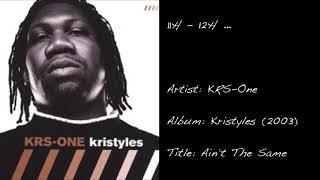 11h - 12h ... (KRS- One / Ain't The Same)