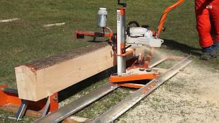 Saw Logs into Boards with Your Chainsaw & the Ultimate Chainsaw Sawmill - the Norwood PortaMill PM14