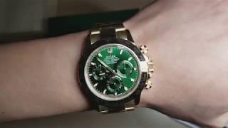 DAYTONA Green Dial 116508, I Got My First Rolex.
