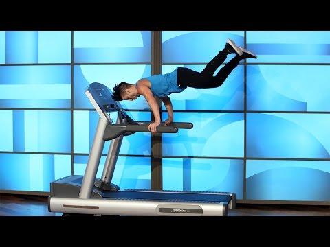 Treadmill Dancer Carson Dean