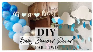 DIY BABY SHOWER PARTY IDEAS (Part 2)