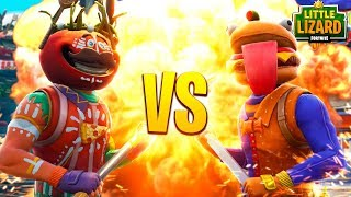 BEEF BOSS VS ANCIENT TOMATO HEAD!!! - Fortnite Short Film