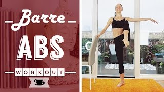 Barre Abs Fitness Workout by Lazy Dancer Tips