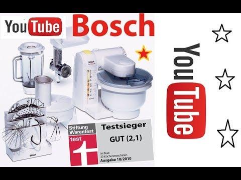 Bosch MUM4880 Küchenmaschine MUM4 UNBOXING