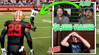 I called out TDBarrett to a $1,000 Wager and he accepted!