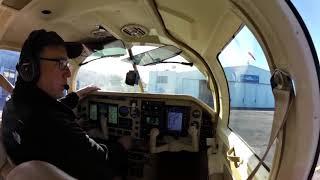 Landing Mooney in Destin RNAV 32.