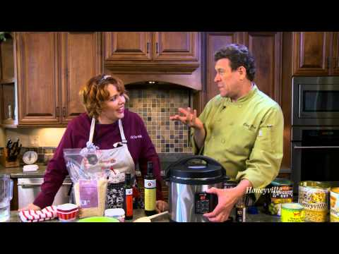 Honeyville Southwestern Pasta Meal in 7 Minutes with Chef Brad & Chef Tess