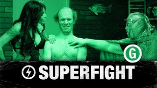 WW SUPERFIGHT - Mike Falzone, Nathan Barnatt (Keith Apicary), Shelly Martinez, and Tilt