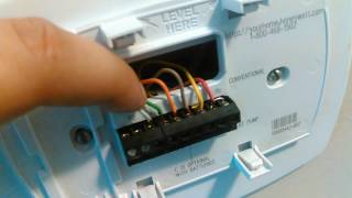 Heat pump operation thermostat wiring most popular videos going over the honeywell 5000 pro thermostat fandeluxe Images