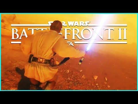 Star Wars Battlefront 2 — Wir spielen Obi Wan-Kenobi — Deutsch German Gameplay