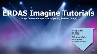 ERDAS Imagine Tutorial 1 (Landsat Image Download, Layer Stack, Opening Stacked Image)