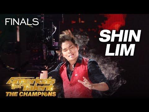Shin Lim: Magician Baffles Judges With Incredible Card Magic - America's Got Talent: The Champions (видео)