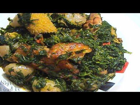 Edikang Ikong Soup (edikaikong) | Vegetable Soup | Nigerian Food TV