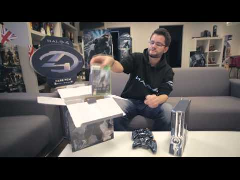buy halo 4 limited edition xbox 360 320gb console free uk delivery game. Black Bedroom Furniture Sets. Home Design Ideas
