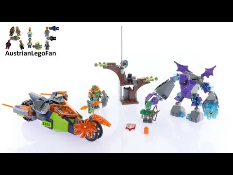 Vidéo LEGO Nexo Knights 70358 : Le destructeur de pierre d'Aaron