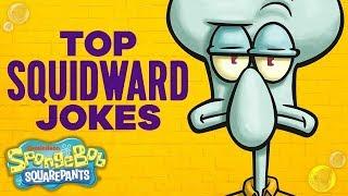 Squidward's Top 21 Funniest Moments 🤣 ft. SpongeBob SquarePants | Nick