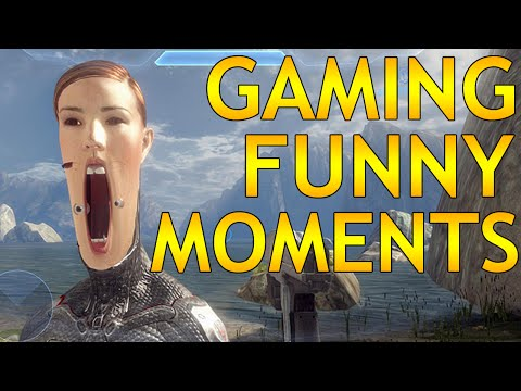 Funny Gaming Moments Compilation - Far Cry, The Witcher, GTA