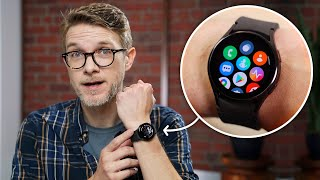 The Samsung Galaxy Watch4 Classic is great - for Samsung users