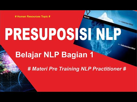 Belajar NLP #Neuro Linguistic Programing #Bagian 1 Gratis I For ...