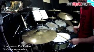 Phil Collins   Don't Lose My Number   DRUM COVER