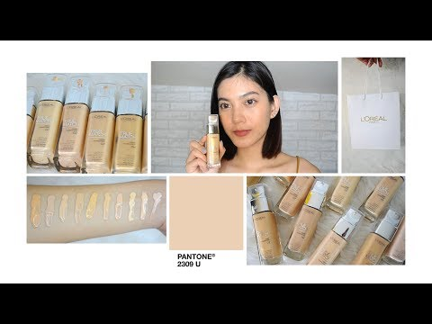 l'oreal true match liquid foundation review & swatches + giveaway (closed)