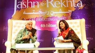 Kuch Ishq Kiya Kuch Kaam Kiya   Javed Akhtar at Jashn-e