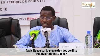 GOUVERNANCE : Cérémonie d'ouverture Table Ronde post électorale ONG IMANI Niger 2021