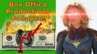 Racism Is Bad For Business - Captain Marvel Box Office Projections COLLAPSE!