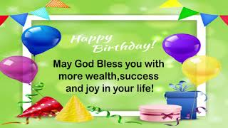 Best Happy Birthday Wishes Messages | Birthday Greetings | Birthday Wishes Pictures