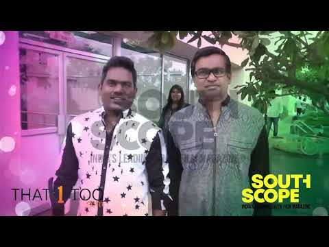 SouthScope Exclusive! Making video of the photoshoot of ace director Selvaraghavan with music director Yuvan Shankar Raja