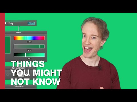Tom Scott - Why You Can Spot Bad Green Screen