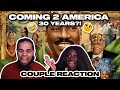 Coming 2 America Official Trailer #2 Reaction ! | Couple Reaction | What Is This ?! 👀🤣