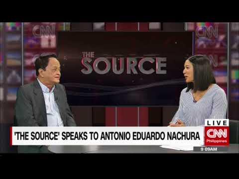 [CNN PH] 'The Source' speaks to Antonio Eduardo Nachura
