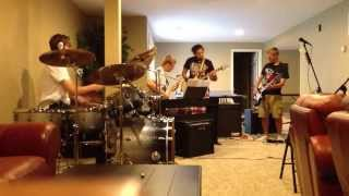 Cascades battle of the bands audition Crash Landing .Jimi Hendrix's Cross Town Traffic