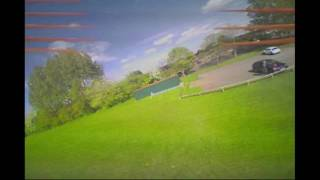 7 year old's first FPV drone flight...100% acro mode!!!!