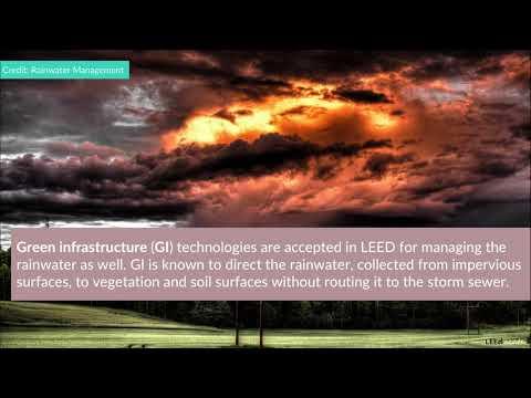 LEED Credit: Rainwater Management | LEED AP BD+C V4 Exam ...