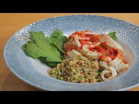 Салат с кальмарами. БЕЗ Майонеза. Очень вкусно на праздничный стол.