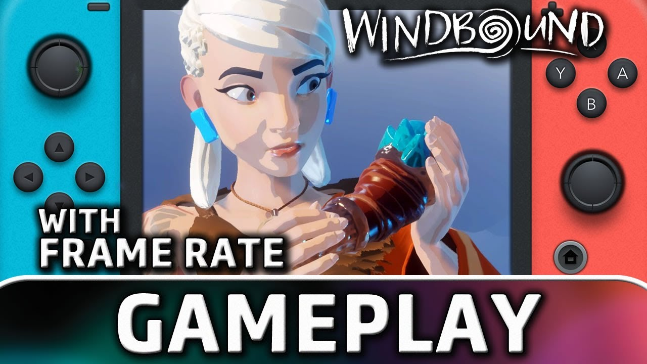 Windbound | Nintendo Switch Gameplay and Frame Rate