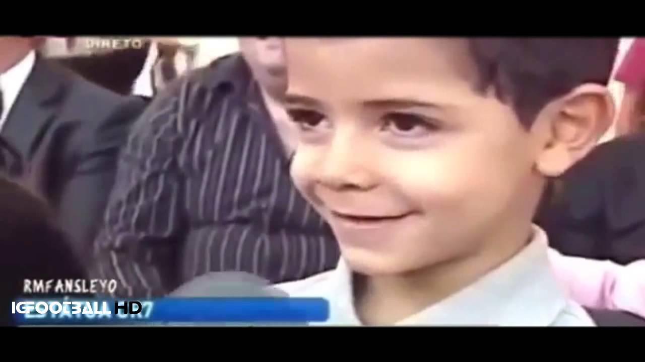 Hijo de Cristiano Ronaldo: «¿Quién es tu papá? El mejor del mundo»