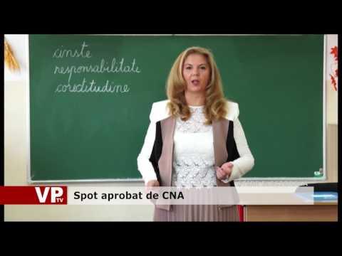 Spot aprobat de CNA