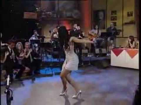 Greek Music - Greek Goddess dancing Zeibekiko!