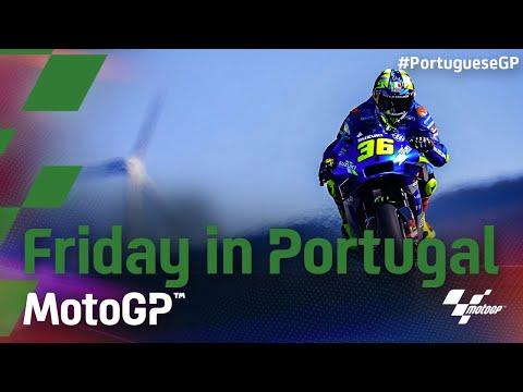 マルケスがいきなり6番手! MotoGP 2021 第3戦ポルトガルGP フリー走行ハイライト動画
