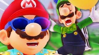 Luigi's Balloon World in a Nutshell