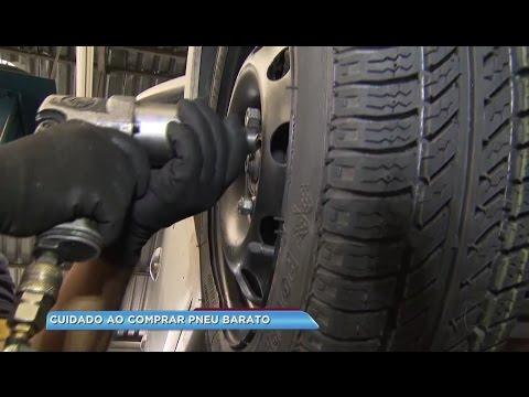 Cuidado na hora de comprar pneu barato