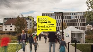preview picture of video 'Tag der offenen Tür Campus Brugg Windisch FHNW'