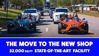 Dreamworks Motorsports   State-Of-The-Art Custom Shop   32,000 Sq. Ft.