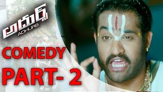 Download Video Adhurs Back to Back Comedy Scenes P2 - Jr. NTR, Nayanthara, Sheela MP3 3GP MP4