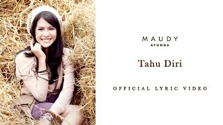 Maudy Ayunda - Tahu Diri | Video Lirik